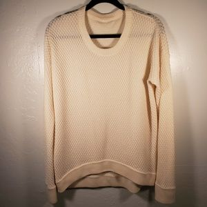Lululemon Yogi Crew Merino Wool Sweater size 10